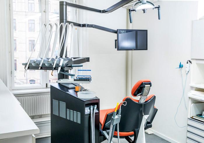 Lega tandklinik - Undersökning